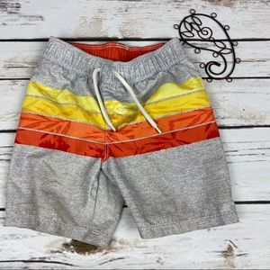 Old Navy Swim Trunks 3T Boys Striped